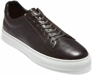 Mens Cole Haan Grand Series Avalon Sneaker - Dark Brown Leather, Size 8 M [C3141