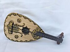 "Medium Decoration Handmade Wooden Egyptian Oud Beautiful 11""X 5"""