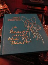 BEAUTY AND THE BEAST Easton Press ILLUSTRATED BY MICHAEL HAGUE RARE FINE