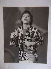 THE ROLLING STONES MICK JAGGER PHOTO 1982 HUGE VINTAGE UNIQUE IMAGE UNRELEASED