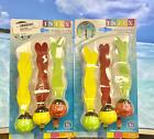 Intex 2-PACK Underwater Fun Balls Swimming Water Toys Pool Dive Set of 3