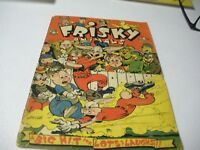 Frisky Animals July 1951 #46 A Big Hit For Lots Of Laughs!! Good+