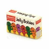 Dolls House Miniature Jelly Babies Sweet Box From 1970s-80s