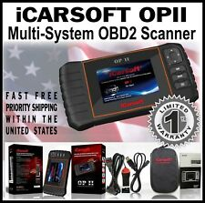 OPEL OP II iCARSOFT NEW VERSION ENGINE DIAGNOSTIC CODE TOOL SCANNER ABS AIRBAG