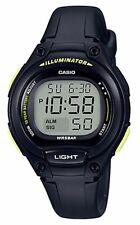 Casio Women's Black Resin Watch, Alarm, 50 Meter WR, Alarm, LW203-1BV
