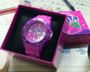 Fanta grape Wrist watch limited Boxed collector item from Japan #0779