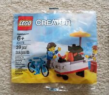 LEGO Creator - Rare Exclusive - 40078 HOT DOG STAND - New & Sealed