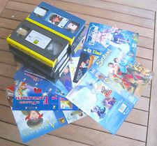VHS STOCK CARTONI ANIMATI 1 -  10 VHS + COVER NO BOX