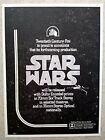 Star Wars Dolby Trade Ad Prints made with Original 1977 Printing Block
