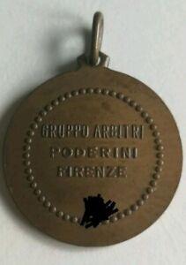 Calcio football serie A Gruppo arbitri Poderini Firenze Fiorentina Referee medal