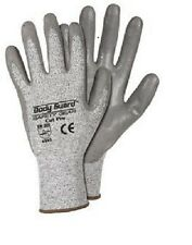 4 pair  BODY GUARD SAFETY GEAR CUT PRO  GLOVES. X Large