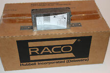 """(25 pc) 3-3/4"""" x 2"""" Electrical Switch Box – RACO 404 – 1"""" Deep NM Clamps"""