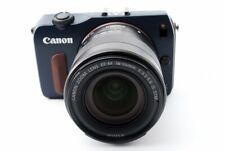 Canon EOS M 18.0MP 18-55mm Lente Kit Azul [ EXC Con / 8GB Tarjeta SD,Tira Japón