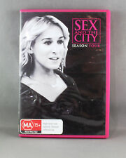 SEX AND THE CITY: SEASON 4 (DVD, 2011, 3-DISC-SET) R4 PAL  VERY GOOD CONDITION