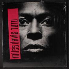 MILES DAVIS: Tutu LP (inner, punch hole, shrink) Jazz
