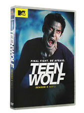NEW Teen Wolf: Season 6 - Part 2 ( DVD, 2017, 3-Disc Set)