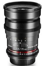 Kamera-Objektive mit manuellem Fokus und 35mm Brennweite für Sony