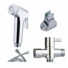 "Douche Spray Bidet Toilet Kit ABS Shower Muslim Shataf G1/2""T-adapter Chrome"