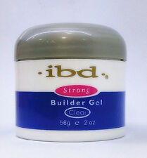 IBD Soak Off Strong UV Builder Gel Extend Nail Polish Manicure 56g Clear Color