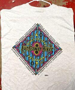 DELTA BLUES T-SHIRT: SUNFLOWER RIVER BLUES & GOSPEL FESTIVAL Clarksdale, MS 2002