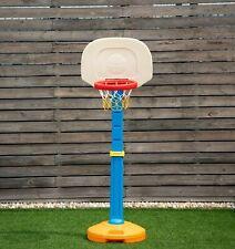 Kids Children Basketball Hoop Stand Adjustable Height Indoor Outdoor Sports Toy