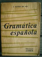 LIVRE *  GRAMATICA ESPANOLA *  Ediciones GINNER  !!