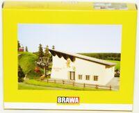 Brawa H0 6343 Hahnenkammbahn Gebäudesatz für Berg- und Talstation - NEU + OVP