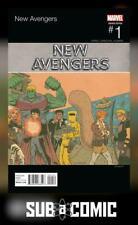 NEW AVENGERS #1 PISKOR HIP HOP VARIANT (MARVEL 2015 1st Print) COMIC