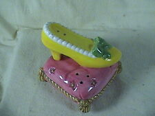 Fitz And Floyd Slipper & Foot Pillow Cinderella Slipper? Salt And Pepper Shakers