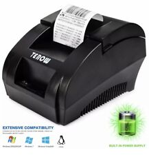 Impresora Termica De Recibos USB Portatil Con ESC/POS Comandos De Impresion New