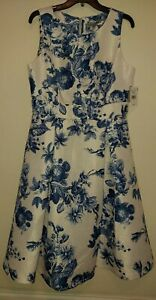 NWT Danny and Nicole Textured Sleeveless Sundress, Size 12 $74 FLAWLESS