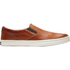 Cole Haan Mens Nantucket Deck Tan Slip-On Sneakers Shoes 9 Medium (D) BHFO 6246