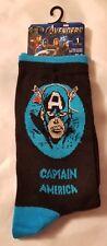 Captain America Socks Superhero Avengers Footwear New Fashion Fun Sox Comic Book