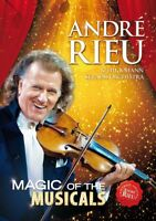 ANDRÉ RIEU - MAGIC OF THE MUSICALS  DVD NEW+