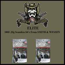 10000 SMITH&WESSON SEAMLESS ELITE 20g 6mm bb's AMMO PELLETS FOR HIGH END AIRSOFT