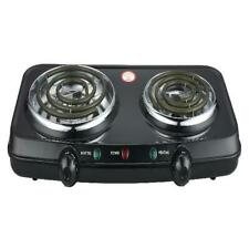 Portable Cooking Stove Mainstays Double Burner 1800W Hot Plate Electric Burner