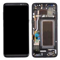 PANTALLA COMPLETA LCD + TACTIL + MARCO SAMSUNG GALAXY S8 G950 NEGRO