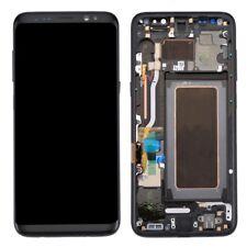 Pantalla completa LCD Tactil marco Samsung Galaxy S8 G950 negro