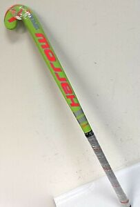 "Harrow Supreme 15 Field 22mm Bow Hockey Stick 35"", Lime Green/Orange - 0P_12"