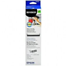 M210V 6X High Quality BLACK Printer Ribbon for EPSON ERC-03B M220 M240