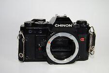 Chinon CG-5 35mm Film Camera Body - Broken