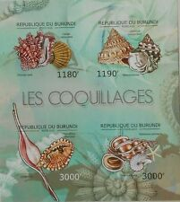 Shells Marine Life  Burundi 2012 m/s Sc.1210 MNH #BUR12610a IMPERF