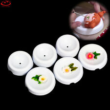 6Pcs Plastic Fondant Cake Baking Decorating Flower Mould Forming Drying Molds