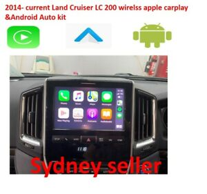 2014-current Toyota LandCrusier LC 200 Apple carplay &Android Auto Kit