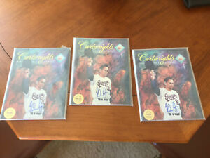 1993 Nolan Ryan Autographed Cartwrights Magazine Lot Of 3