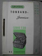 GRUNDIG TK / TM 30 32 35 Service Manual ohne Ersatzteil Liste