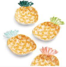 New listing Martha Stewart So-Cal Pineapple Melamine Plates