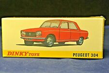 MINT Boxed Reproduction Dinky 1428 Peugeot 304 Saloon by Norev & Atlas Editions