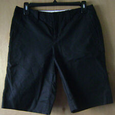 Women's Banana Republic Black 4 Pocket Casual Chino Shorts 4