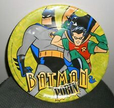 8 X BATMAN & ROBIN CARNIVAL CAPERS DC COMICS UNIQUE PAPER PARTY PLATES 22.9CM